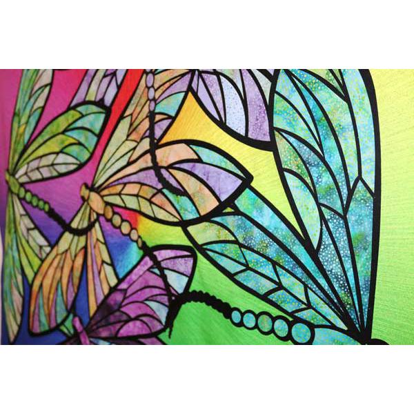 Hoffman Fabrics Dance Of The Dragonflies Quilt Kit by Joann ... : dragonfly quilt - Adamdwight.com